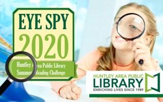 Eye Spy 2020 - Summer Reading Challenge - June 3 through August 1