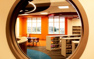 First Look: The Children's Area of the New Library Addition