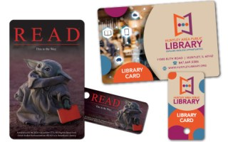 Baby Yoda on a Library Card?!? National Library Card Sign-up Month 2021