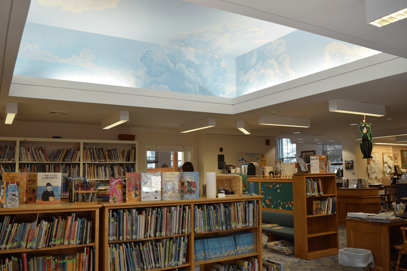 Childrens Room at the Hunt Library