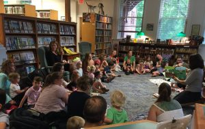 Story Time At Hunt Library