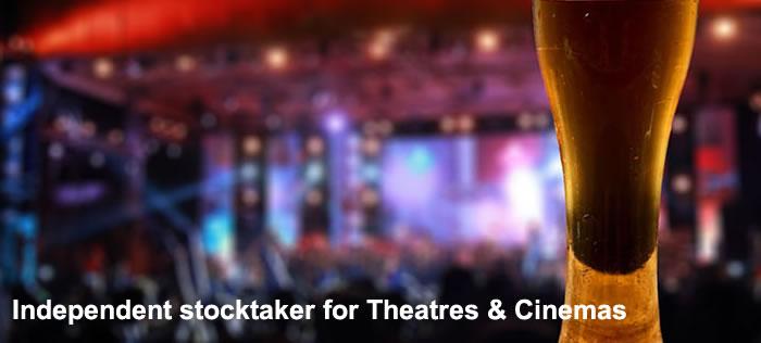 Theatre stocktaker and  Cinema stocktaker