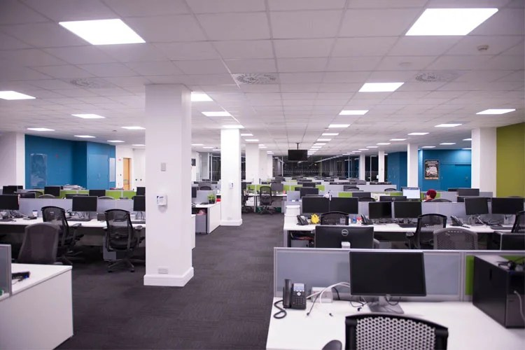 Amazon Contact Centre In Cork Office Fitout Project Phase