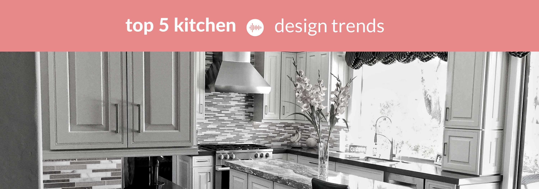 top 5 kitchen design trends for 2019 ⋆ custom kitchen design