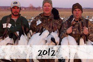 2012 snow goose hunt photos