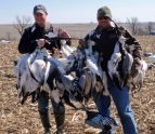 Game strap were full on many of our early guided snow goose hunts in 2012.