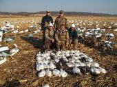 Snow goose outfitter