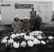 Up North Outdoors offers guided snow goose hunts