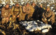 My cousins with on an average day snow goose hunting