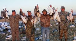 This is some of the hunters we moved from Missouri to South Dakota to hunt snow geese.