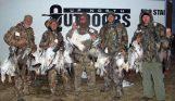 February Missouri snow goose hunt.