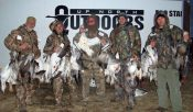 February Missouri snow goose hunt.