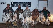 Banner snow goose hunt in February.