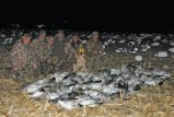 Here is a successfull Missouri snow goose hunt
