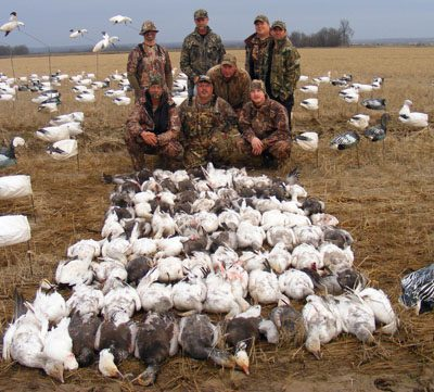 Another banner Arkansas Snow Goose hunt.