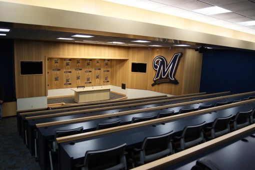 MILLER PARK MEDIA INTERVIEW ROOM
