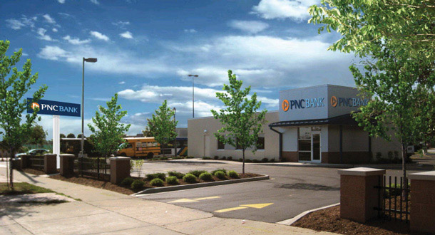 PNC EAST CAPITOL BANK BRANCH | Hunzinger Construction
