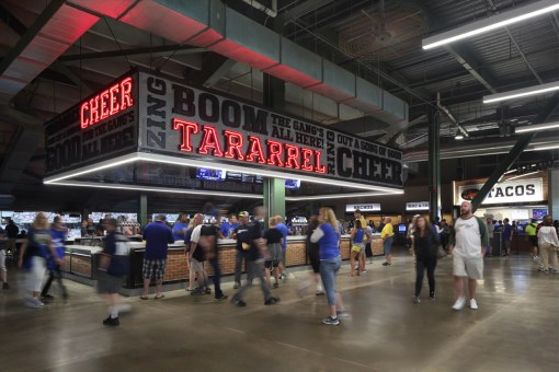 MILLER PARK FOOD & BEVERAGE UPGRADE