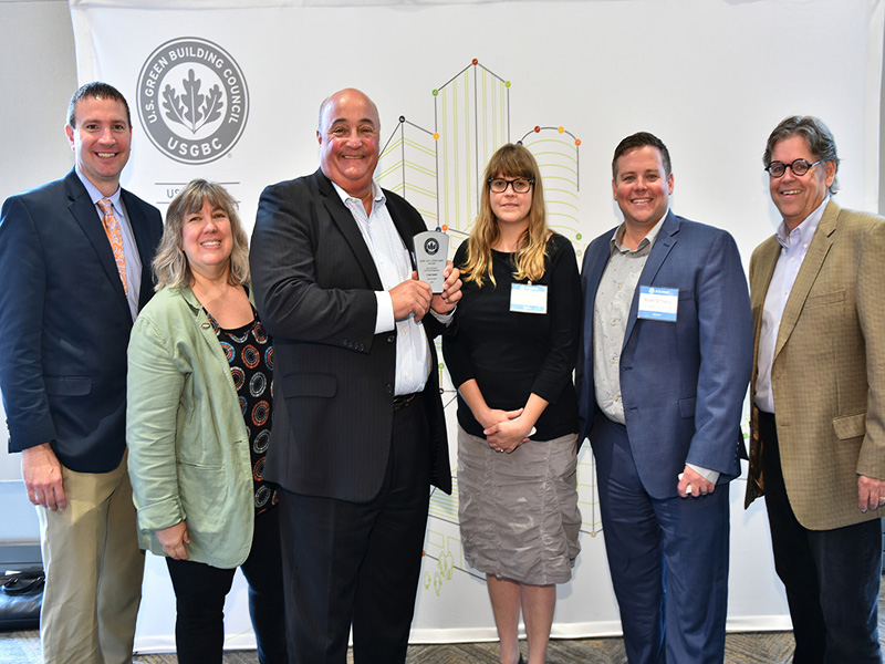 "Our Own Frank Falsetti Wins USGBC's ""Most Successful Community Engagement"" Award"