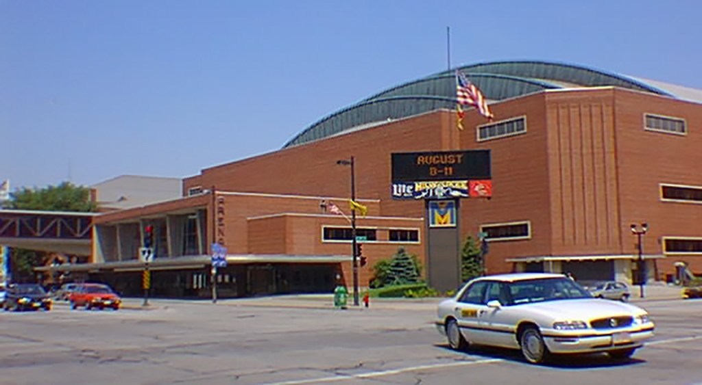 The UW-Milwaukee Panther Arena (originally the Milwaukee Arena)