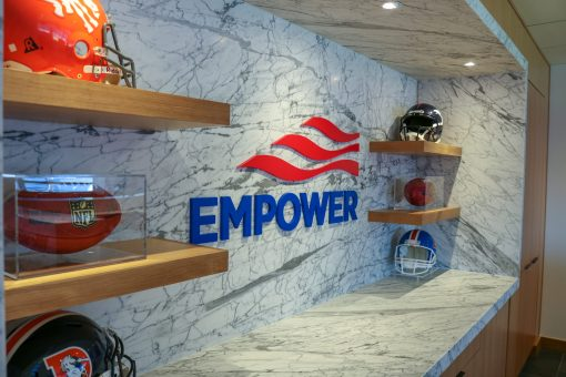 Empower Retirement Suite Renovations at Mile High Stadium