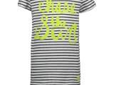 Kids Boys T-shirt s/s yarn dyed stripe CHASE THE SUN stripe navy