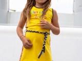 Dress Gigi Yellow silver
