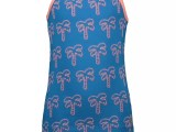 MT tanktop AOP palmtree Blue