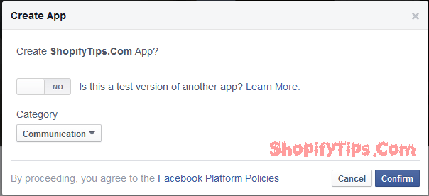 Get App ID and App Secret key from Facebook 4
