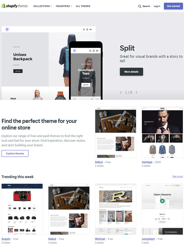 Where can you buy and download Shopify Themes? - Hura Tips