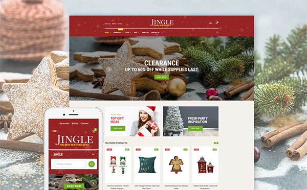 Christmas Responsive Shopify Theme