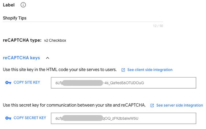 How to get Google reCaptcha site key and secret key - Hura Tips