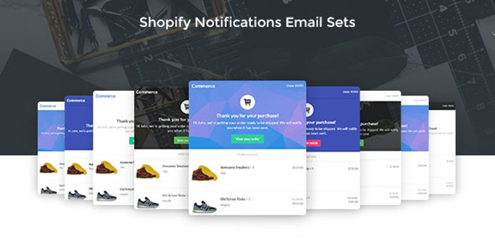 The Best Notification Email Templates For Shopify Themes Hura Tips