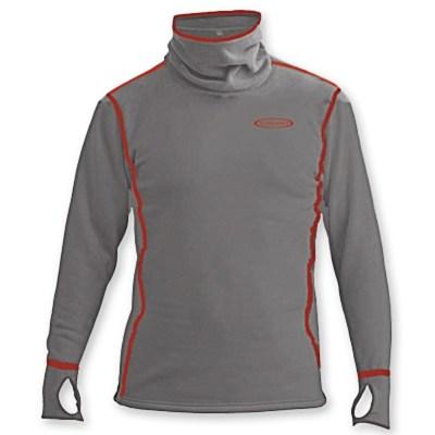 power hoodie top grey