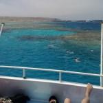 Schnorchler im Wasser am Banana Reef - Grand Giftun - Hurghada