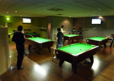 Kings Cross Hurricane Room English Pool Room