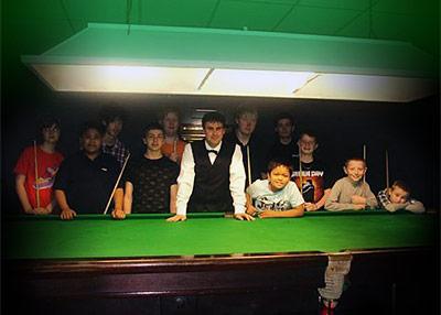 snooker juniors club London