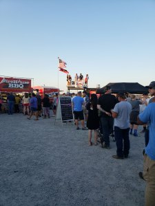 Lines at BBQ Festival KY
