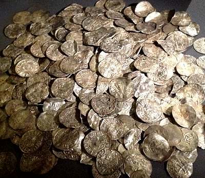 Hack silver, measured by weight not face value - the currency of the Bandamanna
