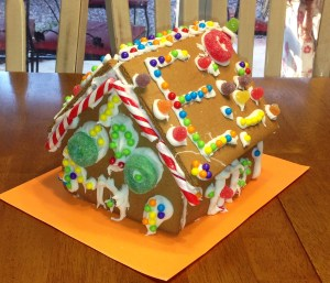 Gingerbread House #1