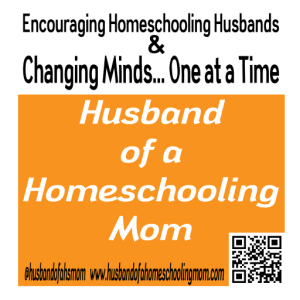 PSA from Husband of a Homeschooling Mom