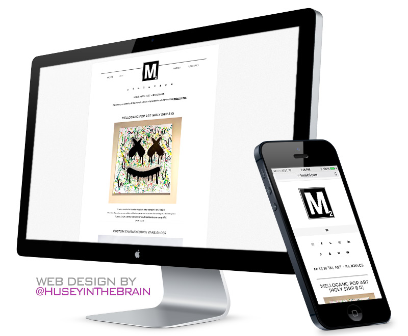 Web design for Mike Mital