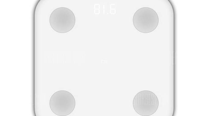 Xiaomi Bluetooth 4.0 Smart Weight Scale