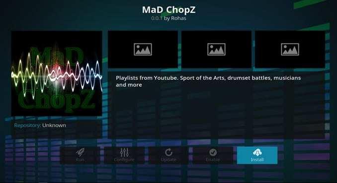 Mad Chopz Addon Guide