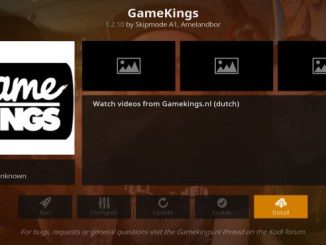 GameKings Addon Guide