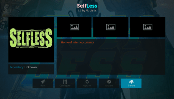 How to Install SELFLESS Kodi 17.6 Addon for Live TV