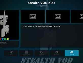 Stealth VOD Kids Addon Guide