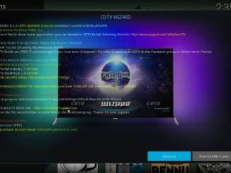 How to Install CellarDoor TV Build on Kodi 17.6