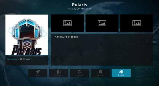 Polaris Addon Guide - Kodi Reviews