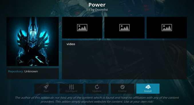 Power Addon Guide - Kodi Reviews